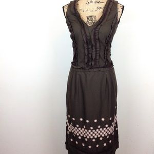 Cynthia Steffe Cotton Spandex Dress 10 @